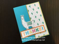 the crafty yogi: Somethings New from SU, Remarkable Blog Hop, birthday fiesta, Stampin' Up!
