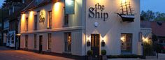 The Ship Hotel is located on the North Norfolk coast, situated at the end of Beach Road in the traditional coastal fishing village of Brancaster. Dogs are welcome, with dog beds, towels and biscuits included.