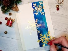 Diy christmas cards 460282024418773031 - Watercolour Christmas card TUTORIAL for beginner ★ How to paint a watercolour Christmas card ★ Easy and quick. Christmas card ideas for 2019 Sisa in Wonderland Source by sisainwonderland Painted Christmas Cards, Simple Christmas Cards, Watercolor Christmas Cards, Printable Christmas Cards, Christmas Card Crafts, Christmas Drawing, Christmas Paintings, Christmas Cards To Make, Watercolor Cards