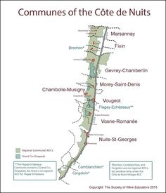 Click here to download a pdf of SWE's map of: Figure 9-22 Communes of the Cote de Nuits