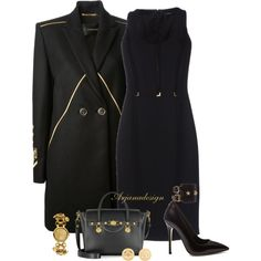 """VERSACE"" by arjanadesign on Polyvore"