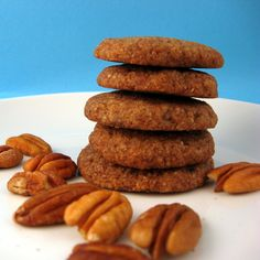 Grain-Free Vegan Pecan Slices