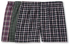 Stay comfortable with the Men's 3 Pack Big Man Tartan Boxers - Fruit of the Loom®. The of men's boxers set feature an opaque, soft fabric with a relaxed fit for a comfortable all day wear. Mens Big And Tall, Big Men, Big & Tall, Fruit Of The Loom, Patterned Shorts, Tartan, Casual Shorts, Underwear, Boxers