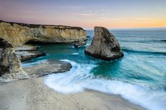 #Daydream: Shark Fin Cove in Davenport, California