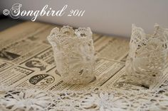 Lace Napkin Ring 2