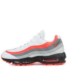 size 40 04dcf a17a7 Nike Air Max 95 Essential White bright Crimson-black-pure Platinum