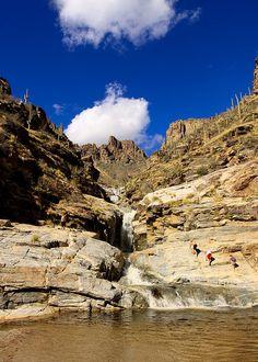 Seven Falls, Bear Canyon, Tucson, Arizona by Marios Savva Arizona Road Trip, Arizona Travel, Tucson Arizona, State Of Arizona, Seven Falls, Sierra Vista, Desert Life, University Of Arizona, Vacation Spots
