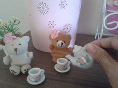 chá de bebê, tema ursinhas