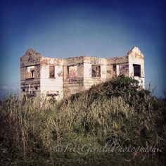 Spooky House on the Hill overlooking the Indian Ocean, Ballito, South Africa. Ghost House, Spooky House, North Coast, Zulu, Abandoned Places, Wilderness, Lonely, Empty, South Africa