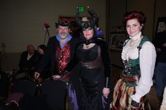 Steampunks - at Steamathon 2015- Doc Phineas' World Steampunk Convention in Las Vegas at the Main Street Station Hotel and Casino #steamathon