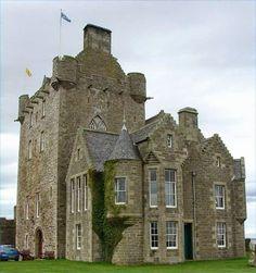 Ackergill Castle ~ Caithness, Wick, Scotland..
