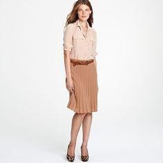 J.Crew Merino skirt