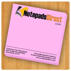 3 x 3 Customized Pink Pastel Paper Sticky Notes / PMS Color Personalized Sticky Notes, Custom Sticky Notes, Pms Colour, Color, Sticky Pads, Pastel Paper, Pink, Colour, Pink Hair