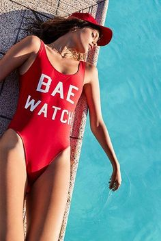 Bae Watch One-Piece Swimsuits
