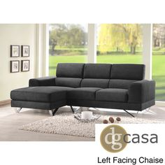 DG Casa Newport Sectional Sofa | Overstock.com Shopping - Big Discounts on DG Casa Sectional Sofas