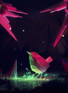 TOUCH THE FREEDOM (game art), N kayurova on ArtStation at https://www.artstation.com/artwork/WdJNv