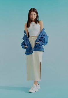 Photo album containing 39 pictures of ITZY South Korean Girls, Korean Girl Groups, New Girl, Kpop Girls, Harry Styles, Bell Sleeve Top, Idol, Fashion Outfits, Stage Outfits