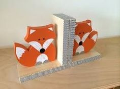 Image result for kids bookend wood