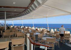 Jewel of the Seas - Windjammer outside seating
