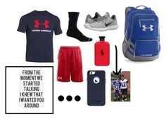 """""""@ landon"""" by mallory-d ❤ liked on Polyvore featuring Under Armour, NIKE, Ralph Lauren, OtterBox, men's fashion and menswear"""