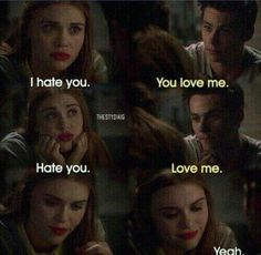 teen wolf, love, and stydia εικόνα Lydia Teen Wolf, Stiles Teen Wolf, Teen Wolf Stydia, Teen Wolf Memes, Teen Wolf Quotes, Teen Wolf Funny, Scott Mccall, Tyler Posey, Dylan O'brien