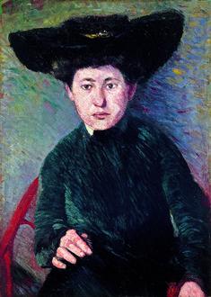 'Miz Hofmann, Portrait' (1901) by Hans Hofmann