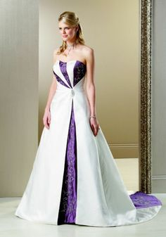 The wedding dress will be purple and white description from natalet purple white wedding dress google search junglespirit Choice Image