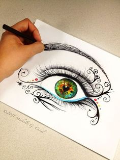 Eye am unfolding by artisticalshell on deviantART
