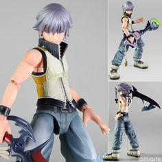 "AmiAmi [Character & Hobby Shop]   Play Arts Kai - Kingdom Hearts 3D: Dream Drop Distance ""Riku"" Action Figure(Preorder)"