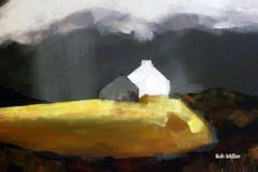 rob miller paintings and drawings.: Hebrides Painting by Rob Miller
