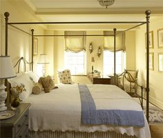 Relaxing Traditional Bedroom by John Douglas Eason on HomePortfolio