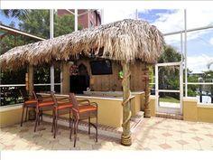 every home needs a tiki bar!
