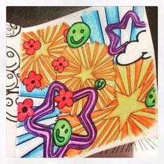 Page 1.... #HappyBook #ColouringClub
