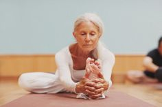 Yoga inspiration--i want to have flexibility and strength at all ages
