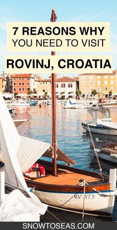 Rovinj's history, architecture, scenery, and traditional cuisine make the Croatian city nothing short of the perfect vacation destination. Plan your trip to Rovinj today! #Rovinj #Croatia #Europe #Balkans