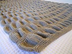 Ravelry: Elm Avenue Throw Blanket pattern by Lauren Scungio free knitting pattern