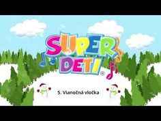 Superdeti - Vianočná vločka (VIANOČNÁ POŠTA) - YouTube Primary School, Winter Time, Karaoke, Diy And Crafts, Education, Youtube, Christmas, Art, Yule