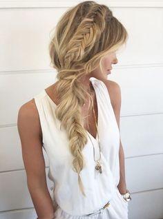 fishtail dutch braid love