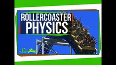Roller coasters give people the opportunity to experience physics in dramatic ways. In this episode of SciShow, they break down how physics work on roller coasters to give you the ride of your life! Science Biology, Physical Science, Earth Science, Classroom Images, Classroom Posters, Classroom Ideas, Teaching Time, Teaching Science, Pipe Insulation