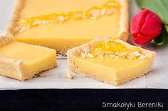 Mazurek z kremem cytrynowym Keto Recipes, Cake Recipes, Dessert Recipes, Cooking Recipes, Cheesecake Pops, Easter Recipes, Easter Food, Healthy Sweets, Baked Goods