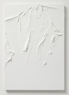 White abstract art by Conrad Jon Godly Inspiration Art, Art Inspo, Interior Inspiration, Conrad Jon Godly, Art Texture, White Texture, Modern Art, Contemporary Art, Minimalist Art