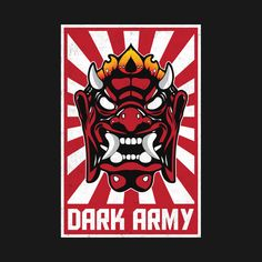 'Mr Robot Dark Army Hacking Group' Sticker by petestyles Mr Robot, Framed Prints, Canvas Prints, Art Prints, Geeks, Robot Wallpaper, Army Tattoos, Oni Mask, Bullet Art