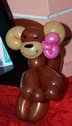 Monkey Girl Balloon Animals