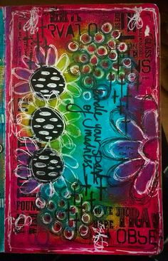 Tracy Scott - My Mixed Media Journey's photo. Small Journal, Art Journal Pages, Art Journaling, Mixed Media Canvas, Mixed Media Collage, Tracy Scott, Art Journal Inspiration, Journal Ideas, Art Journal Backgrounds