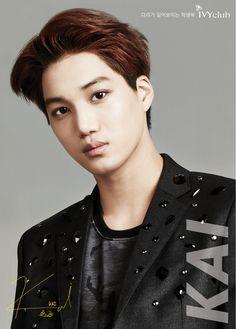 KAI from EXO ~ IVYclub Facebook Update - EXO-K Kai