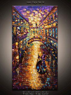 Le Chaleur de la Magie 40 ABSTRACT por LanaGuiseFineArt en Etsy, $330.00