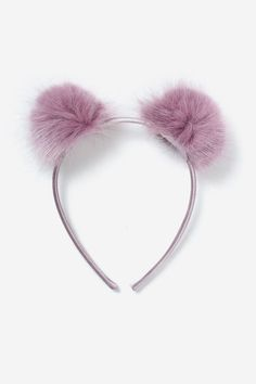 Fluffy Pom Pom Headband Pom Pom Headband, Cat Ears Headband, Headbands, Accessories Display, Hair Accessories For Women, Cute Notebooks For School, Diy Headband Holder, Ear Hair, Other Outfits