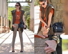 SNAKE PRINT PANTS (by Mireia MDS) http://lookbook.nu/look/3530123-SNAKE-PRINT-PANTS