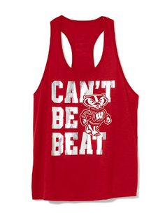 University of Wisconsin Racerback Tank - Victoria's Secret Pink® - Victoria's Secret
