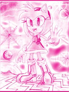 Amy Rose 1992 - Buscar con Google Sonic The Hedgehog, Rose Sketch, Princess Peach, Disney Princess, Sonic Fan Art, Amy Rose, Sonic Boom, Equestria Girls, A Team